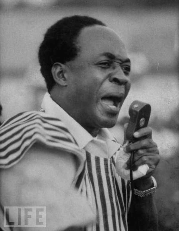 Nkrumah's Name & Birthdate Are Not Set In Moses' Tablets Of Stone 1